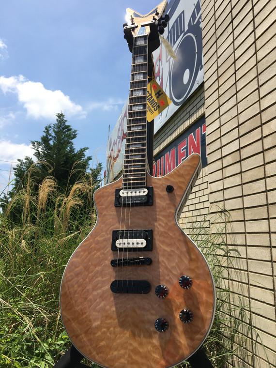 Dean Cadi Select Quilt Top Gloss Natural 6string Electric Guitar CADI SEL QM GN