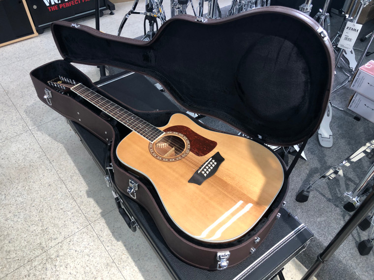 Washburn D10SCE-12 Heritage 10 Series 12 String Dreadnought Cutaway Acoustic Electric Guitar HD10SCE12-O
