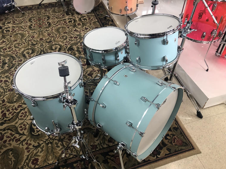"Ludwig NeuSonic Drum Set 3pc 22"" Shell Pack - Skyline Blue"