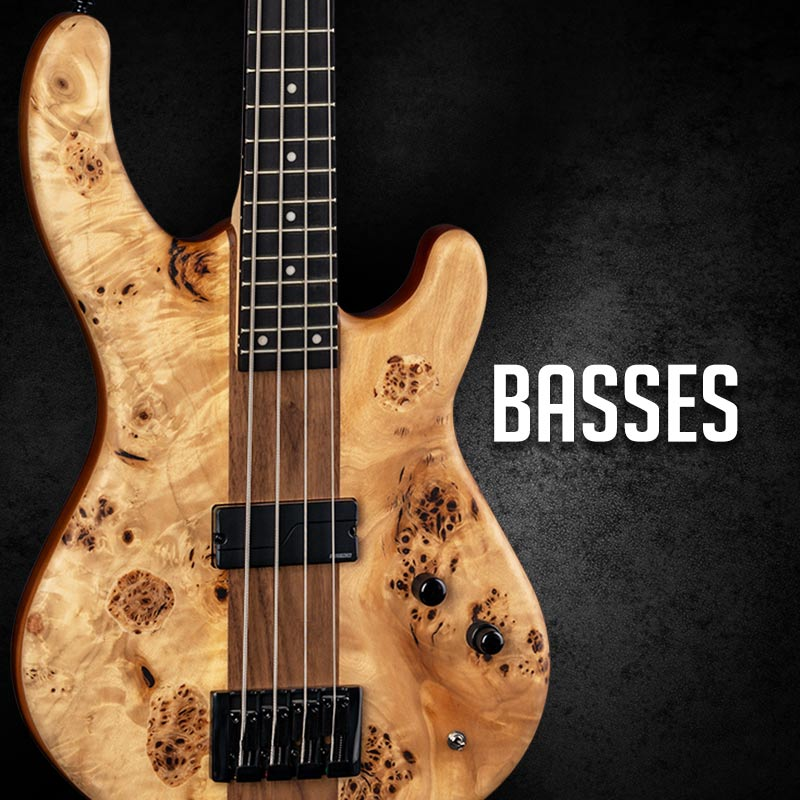 Bass Guitars at Drummersuperstore.com