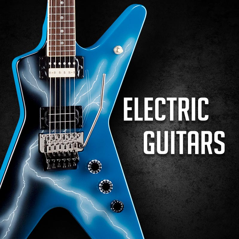 Electric Guitars at Drummersuperstore!