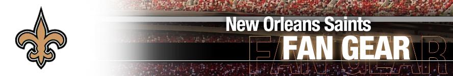 New Orleans Saints Apparel and Saints Fan Gear