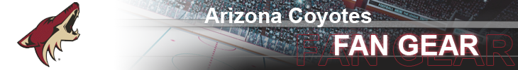 Phoenix Coyotes Hockey Apparel and Coyotes Fan Gear