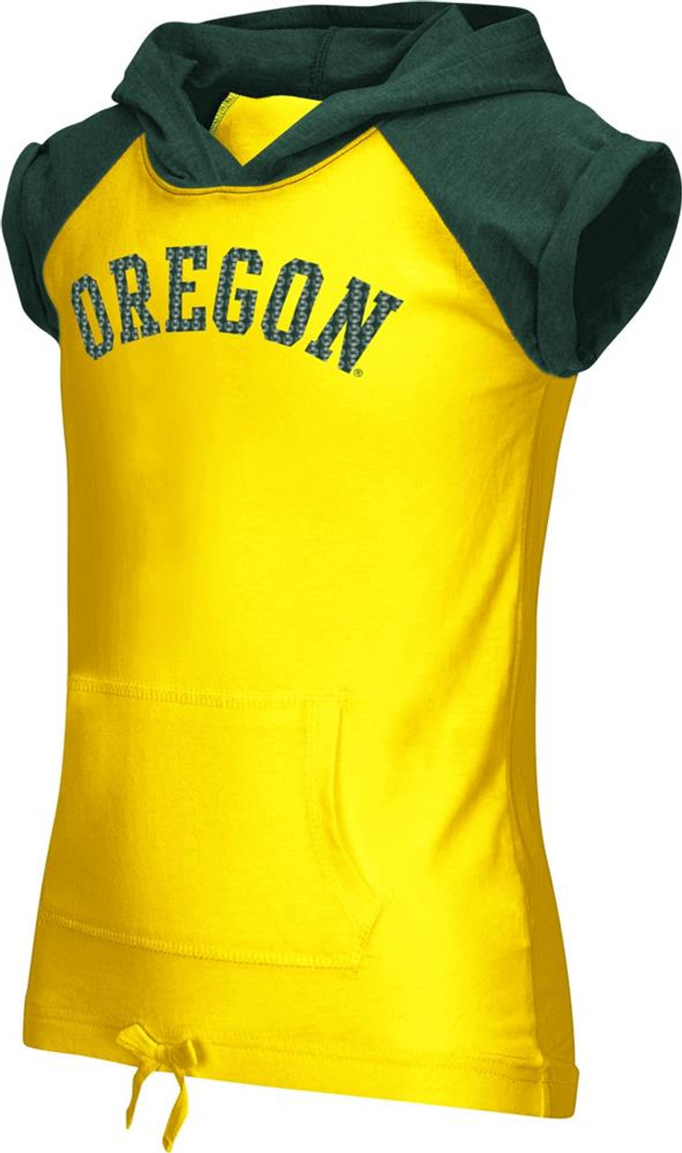 Youth Girls University of Oregon Ducks Hooded Tee