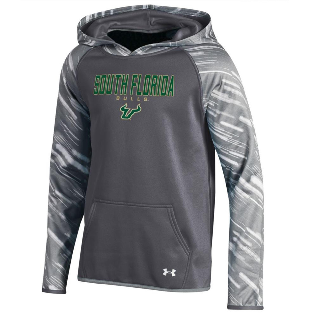Girl's Printed South Florida USF Bulls Under Armour Hoodie