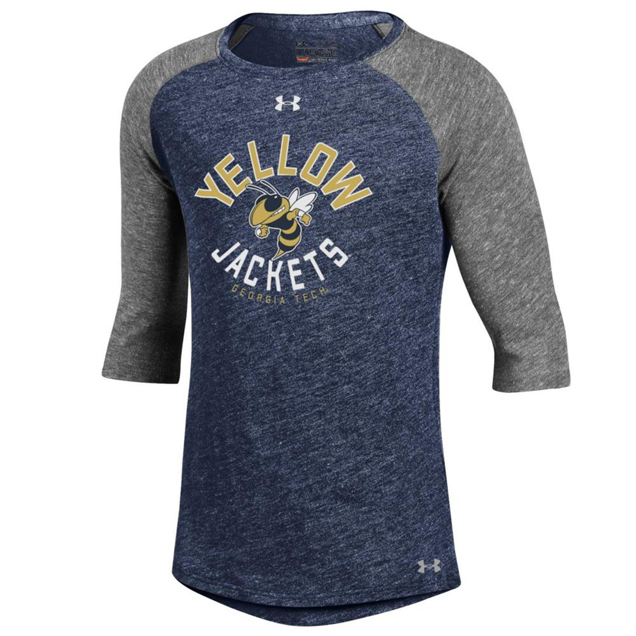 Girls Under Armour Georgia Tech GT Baseball Tee