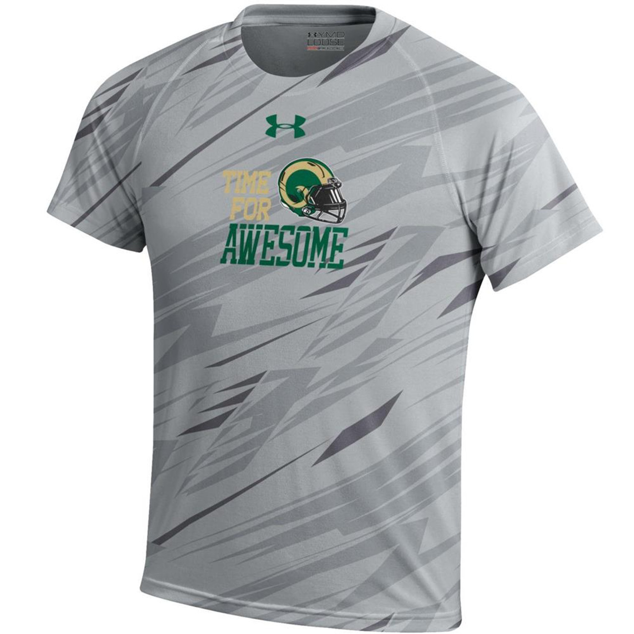 Youth Boy's Colorado State Rams Under Armour NuTech Tee