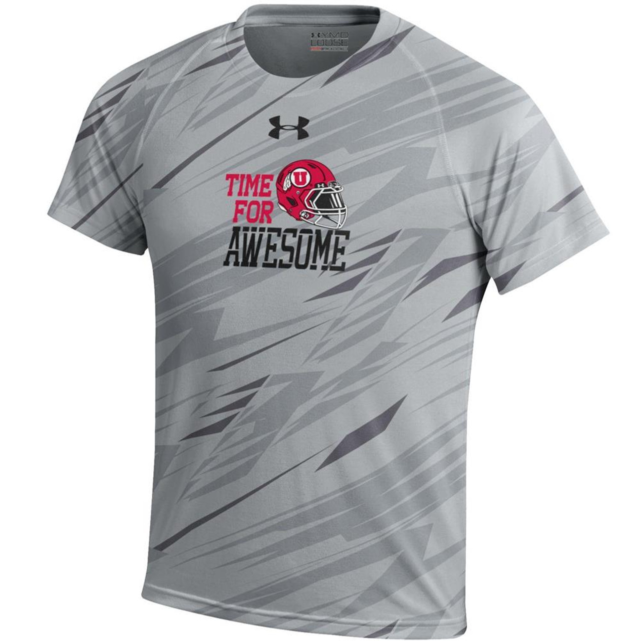 outlet store sale 400f9 d2c7a Youth Boy's University of Utah Utes Under Armour NuTech Tee