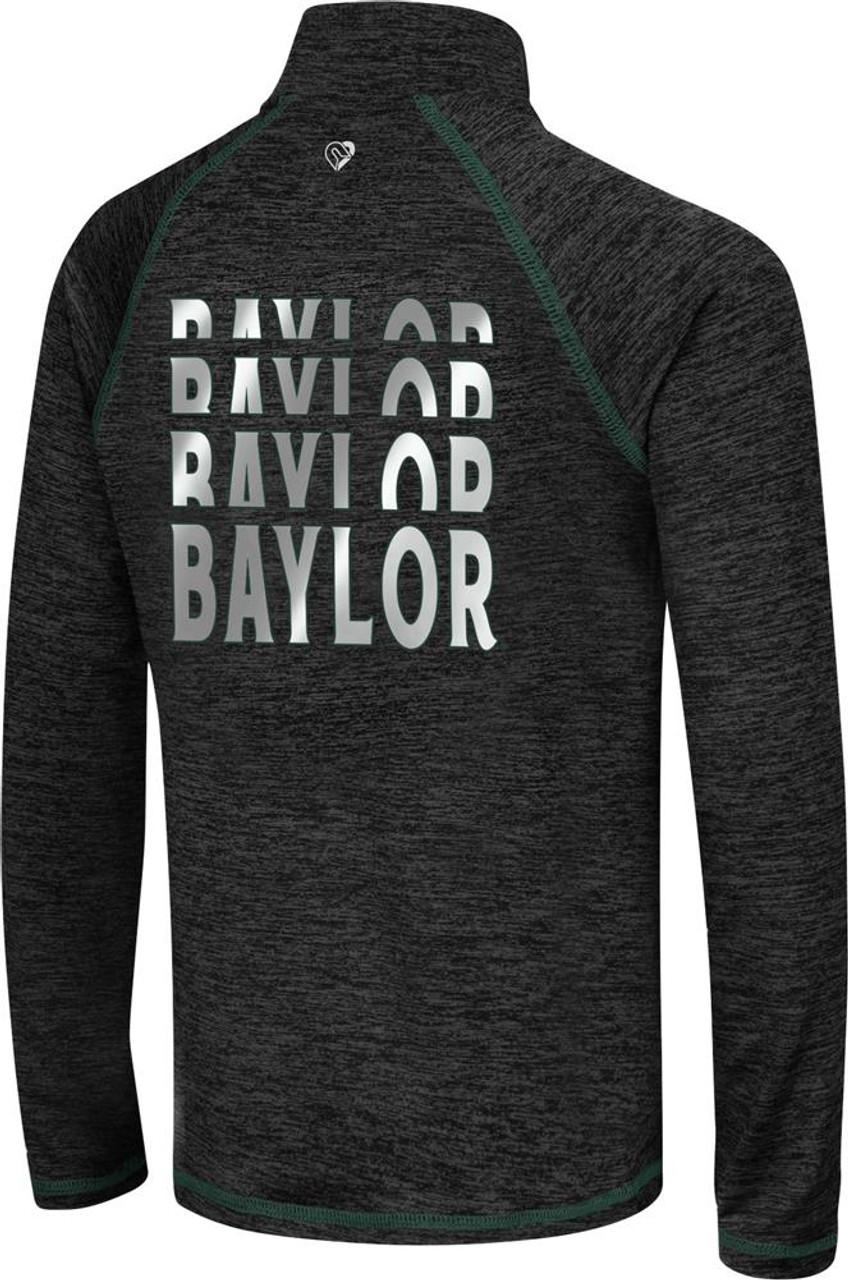 Girls Quarter Zip Baylor University Bears Long Sleeve Windshirt
