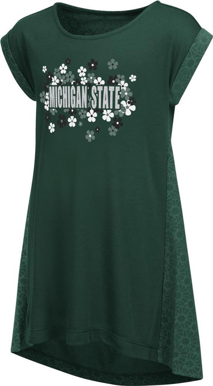 Daisy Dot Michigan State University Toddler Dress