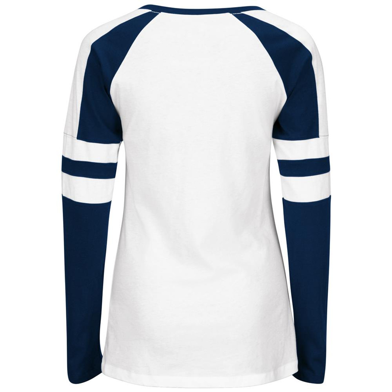Majestic Los Angeles Chargers Ladies Long Sleeve Tee