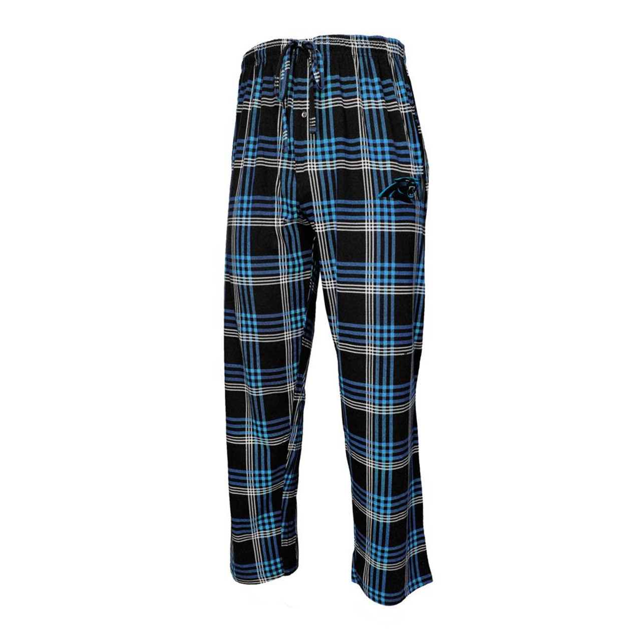 Men's Playoff Plaid Carolina Panthers Pajama Pants