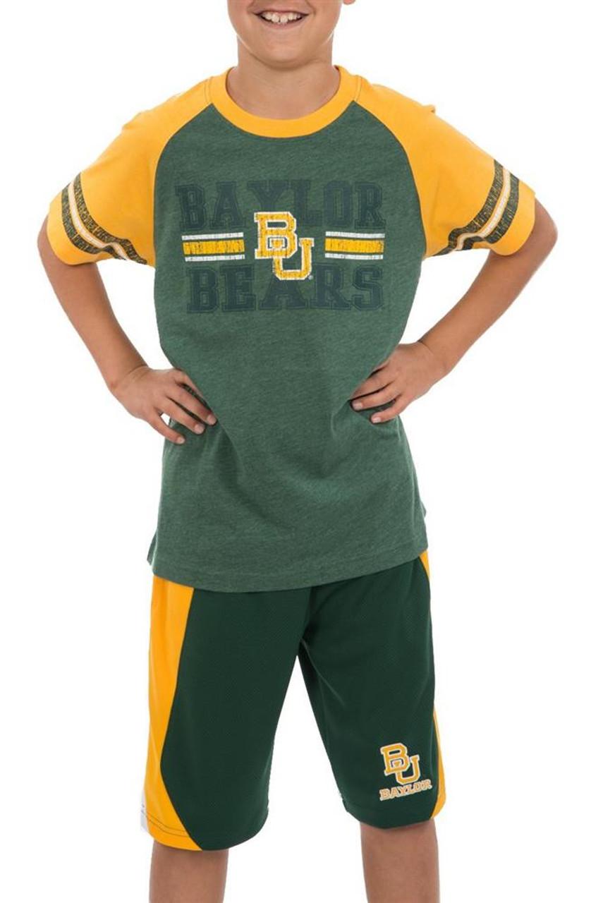 University of Utah Utes Youth Houseman Raglan Short Sleeve Tee