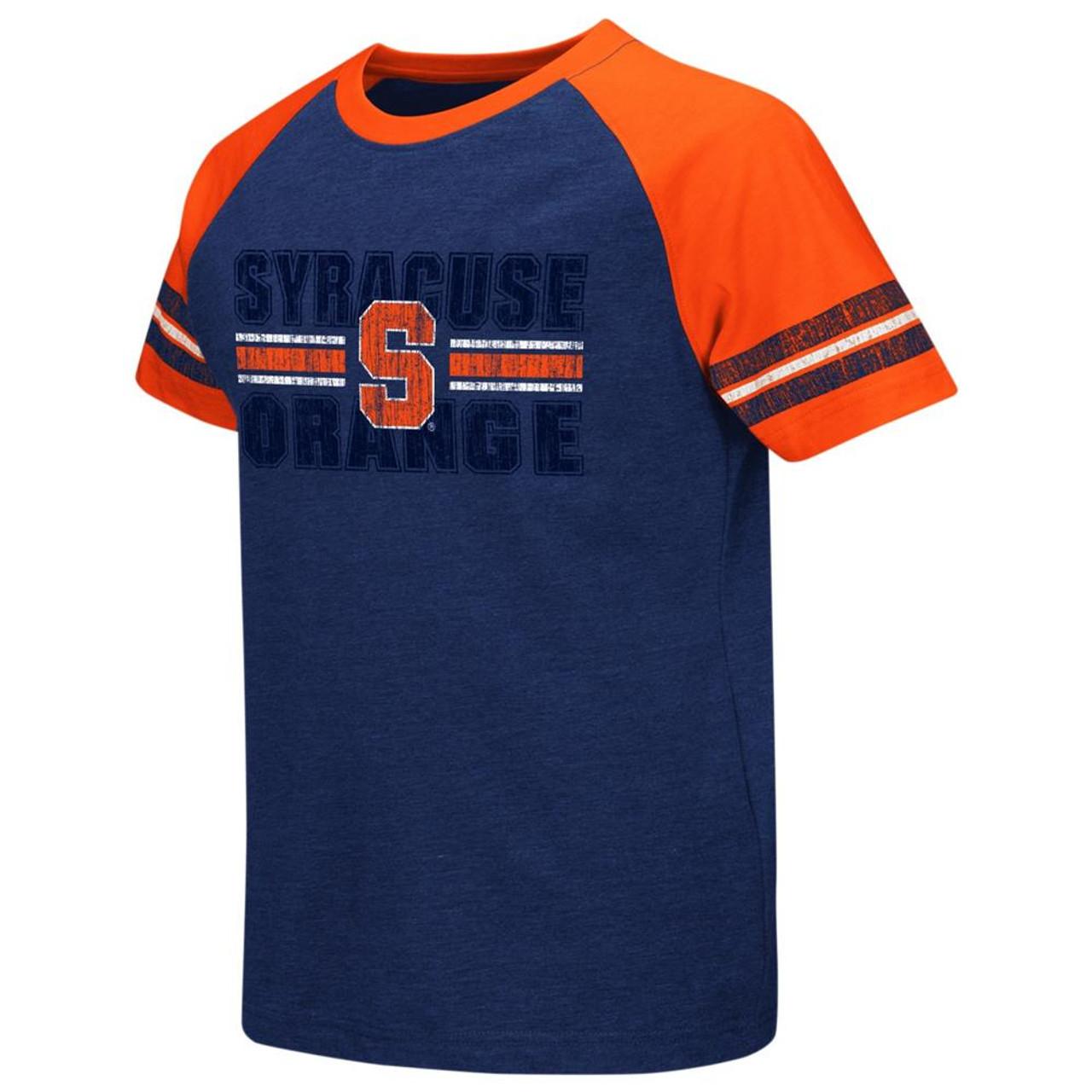 Syracuse University Youth Houseman Raglan Short Sleeve Tee