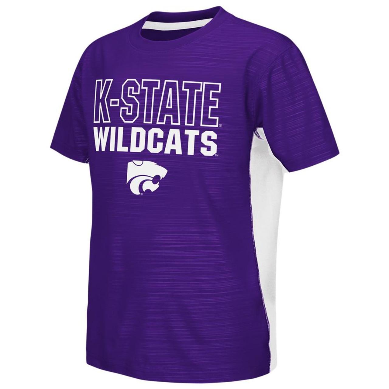Kansas State University Youth Tee Performance Poly Logo T-Shirt