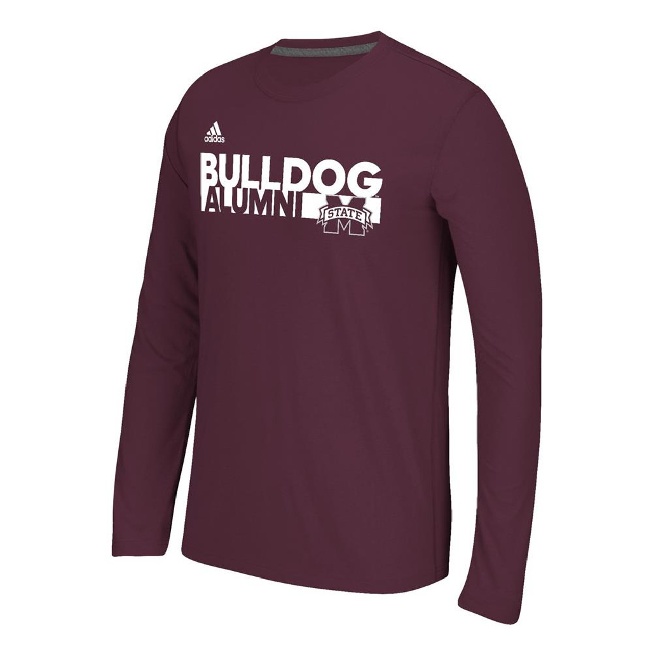 Mississippi State Bulldogs Long Sleeve Adidas Ultimate T-Shirt