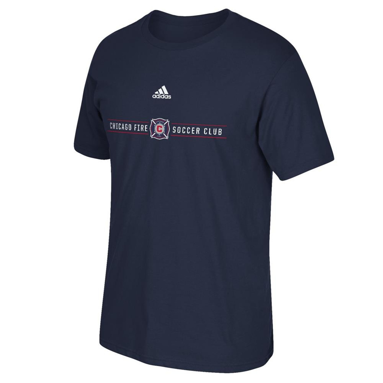 Chicago Fire Adidas The Go To Short Sleeve Tee