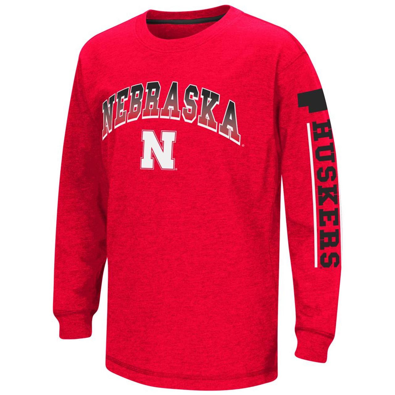 Nebraska Cornhuskers Youth Long Sleeve Shirt