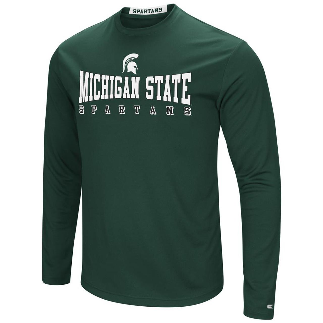 Michigan State University T-Shirt Performance Long Sleeve Shirt