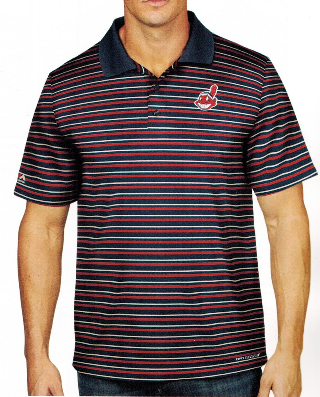 Men's Synthetic Detroit Tigers Polo Shirt