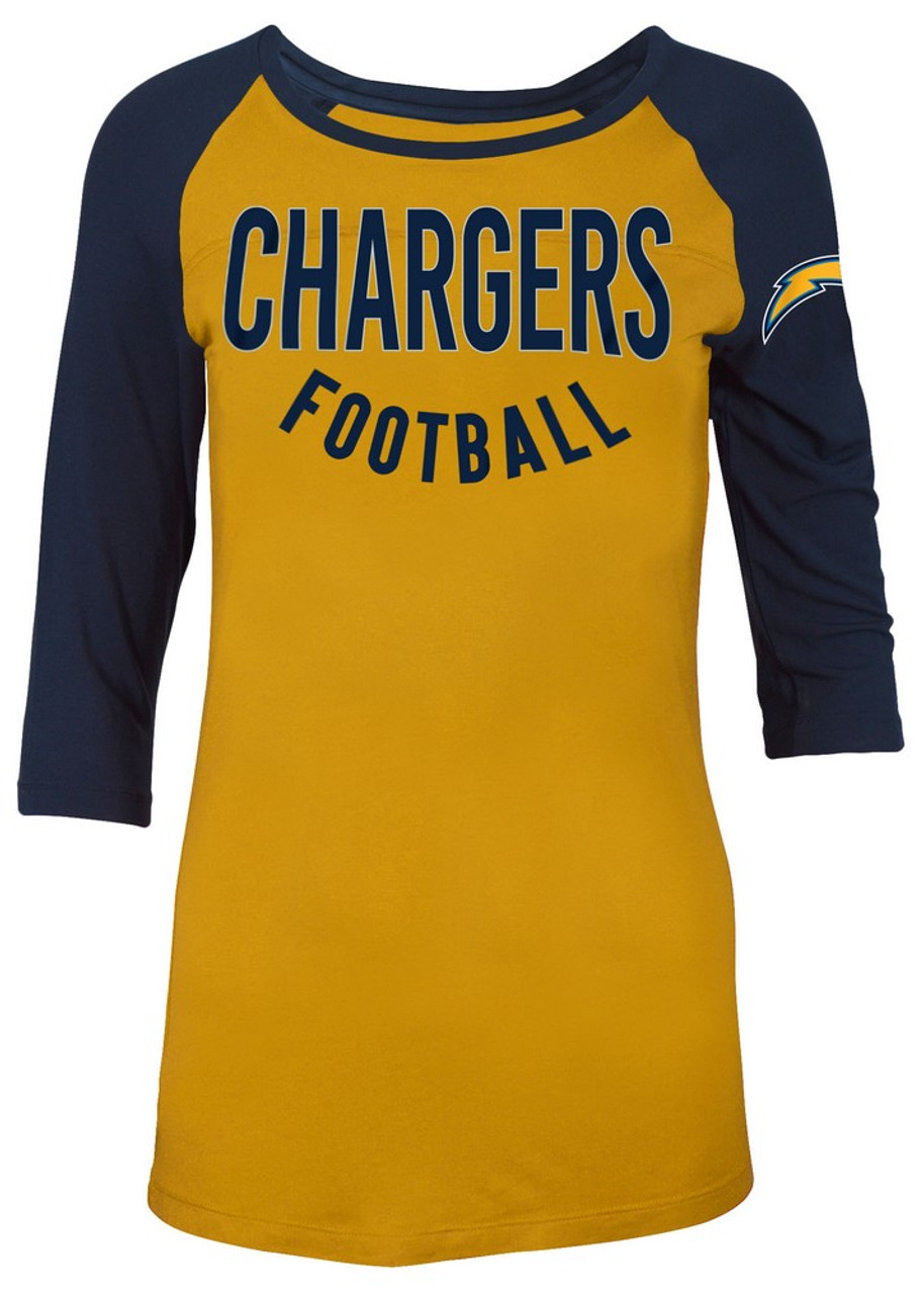 Los Angeles Chargers Raglan Shirt Women's Graphic T-Shirt