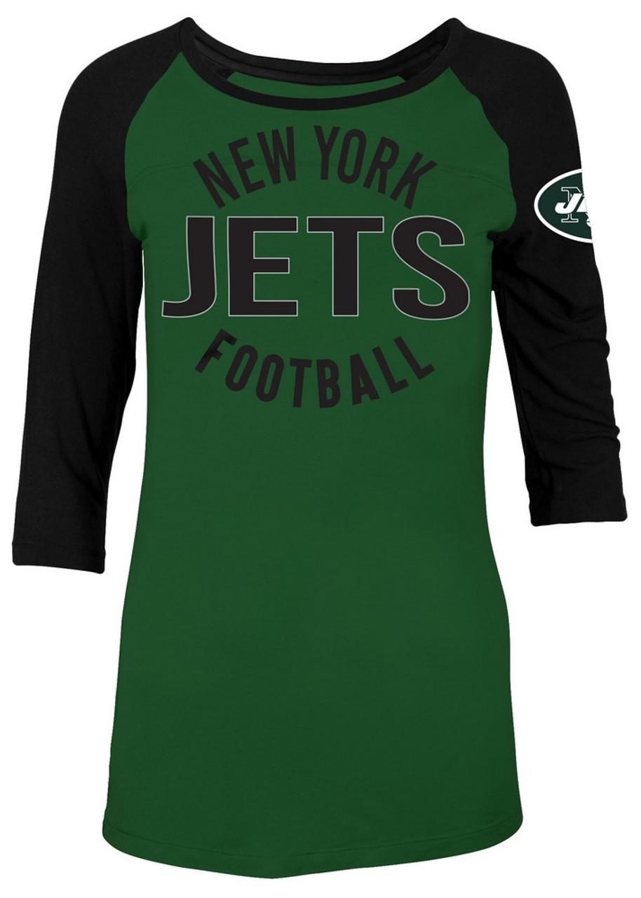 New York Jets NY Raglan Shirt Women's Graphic T-Shirt