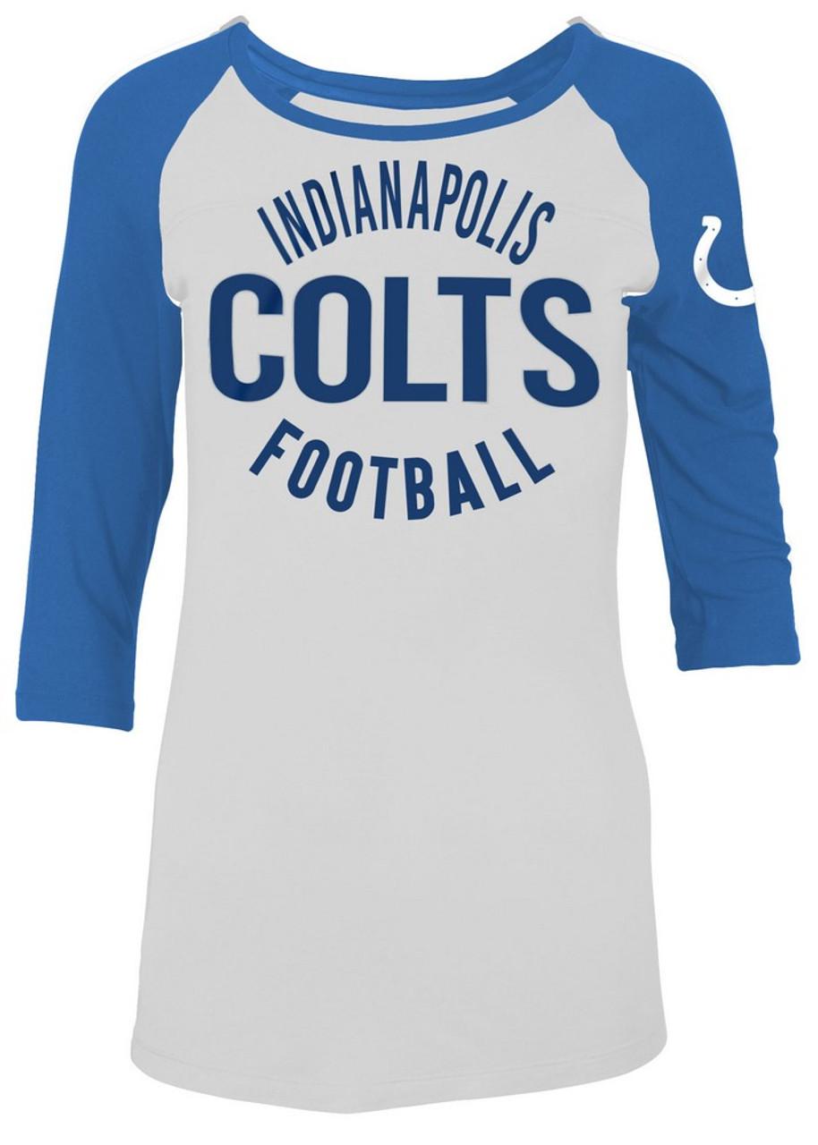 Indianapolis Colts Raglan Shirt Women's Graphic T-Shirt