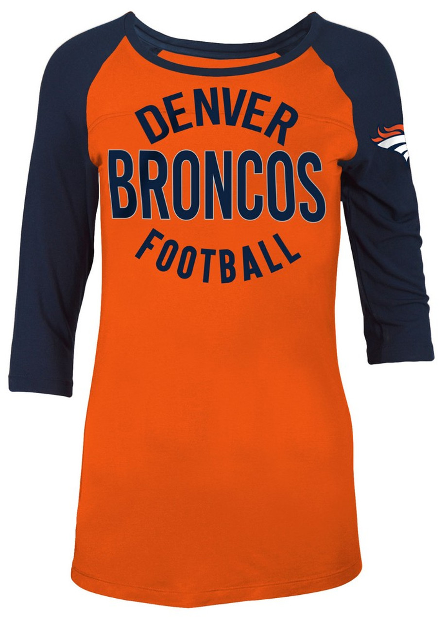 Denver Broncos Raglan Shirt Women's Graphic T-Shirt