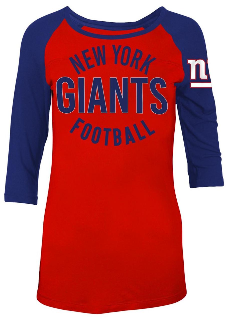 New York Giants NY Raglan Shirt Women's Graphic T-Shirt