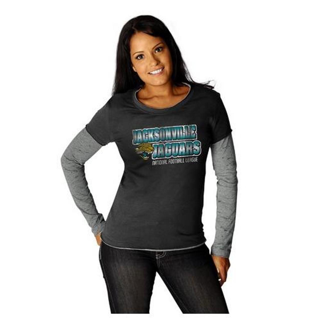 Jacksonville Jaguars Women's Layered Long Sleeve Tee