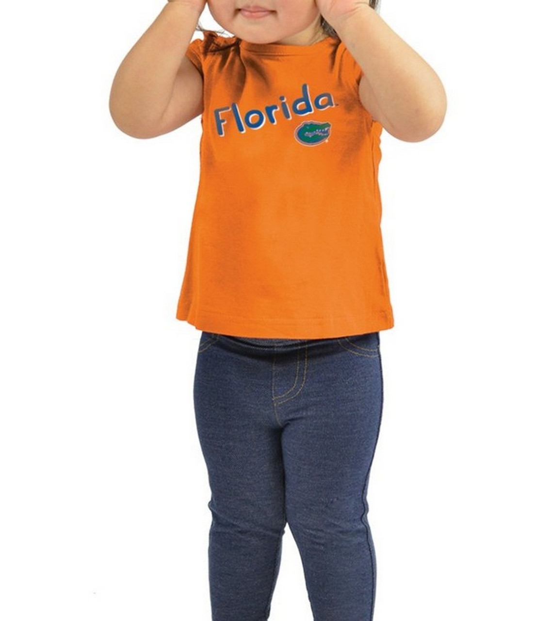 Arkansas Razorback Girls' Tee Shirt and Jeggings Set