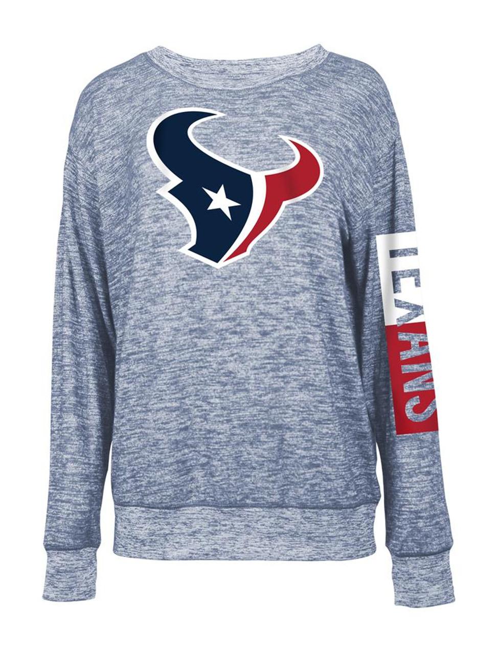 Houston Texans Sweater Women's Knit Pullover