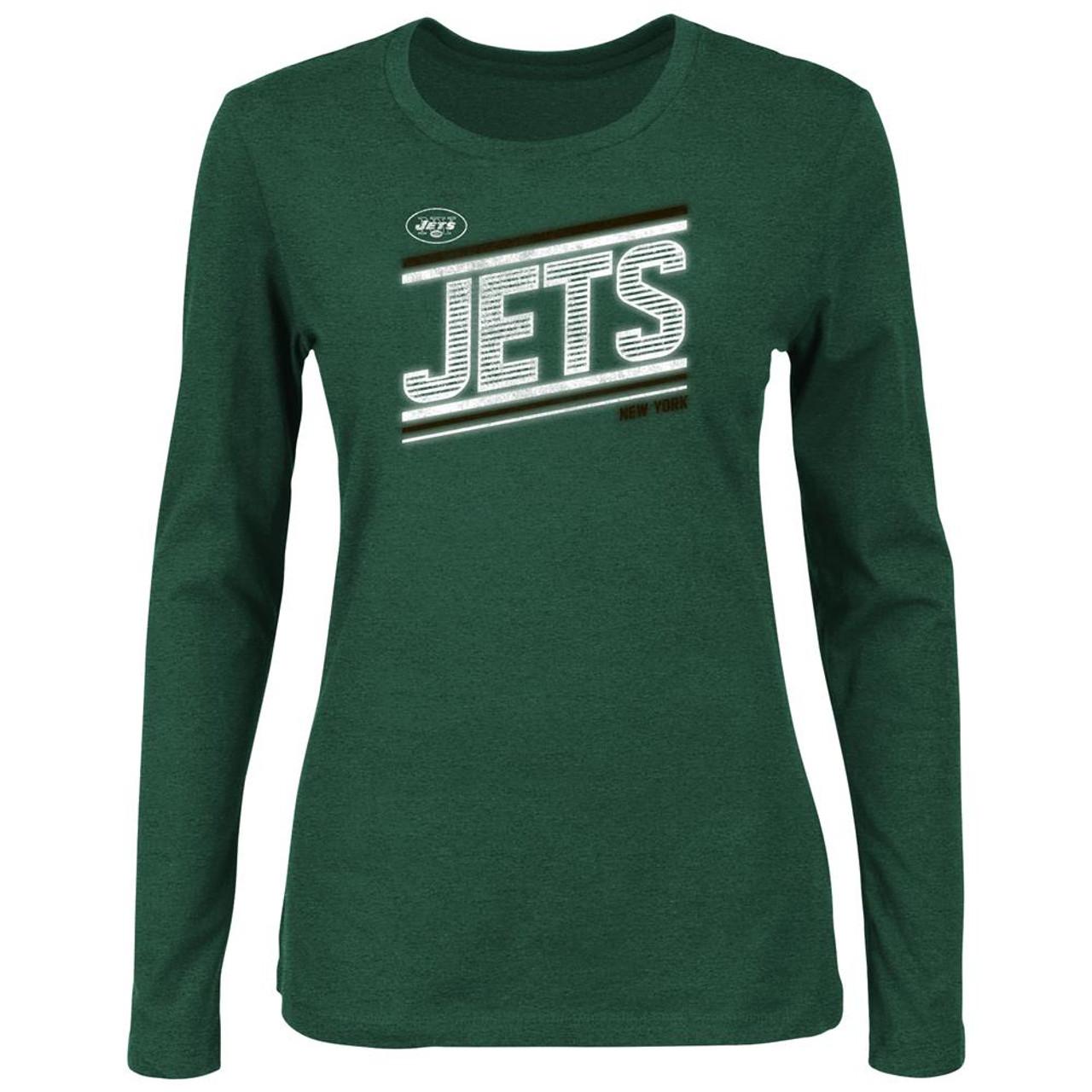 Long Sleeve Ladies New York Jets NY T-Shirt