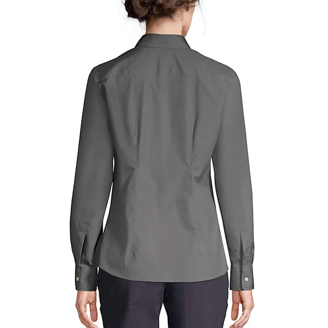 New York Mets NY Women's Long Sleeve Dress Shirt
