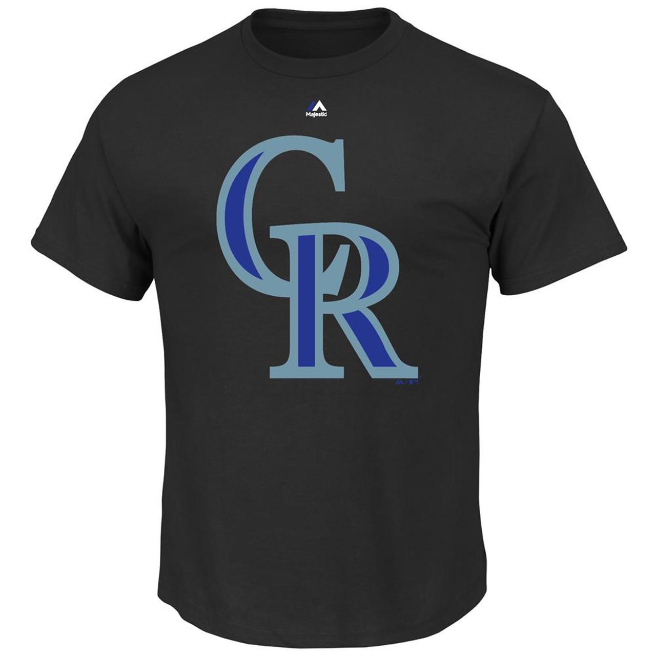 Official Logo Colorado Rockies Short Sleeve T-Shirt