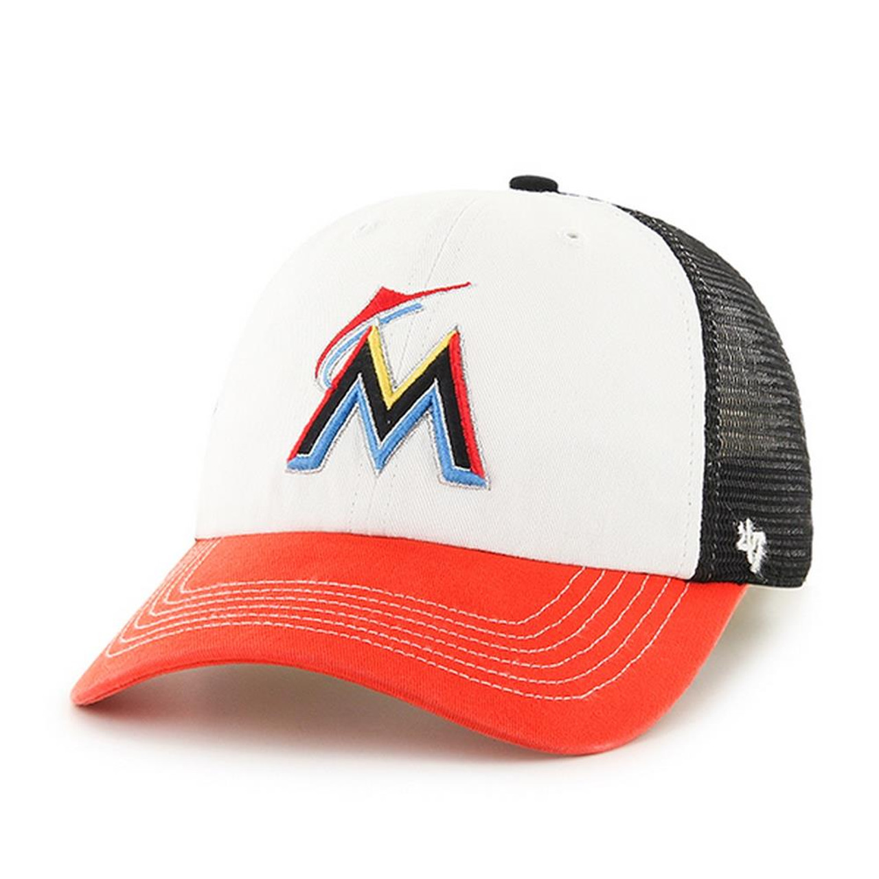 Men's 47 Brand Mckinley Miami Marlin Fitted Hat