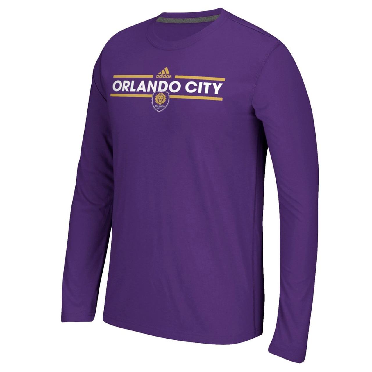 1cfedc15cc34 Orlando City SC Long Sleeve Adidas Ultimate T-Shirt