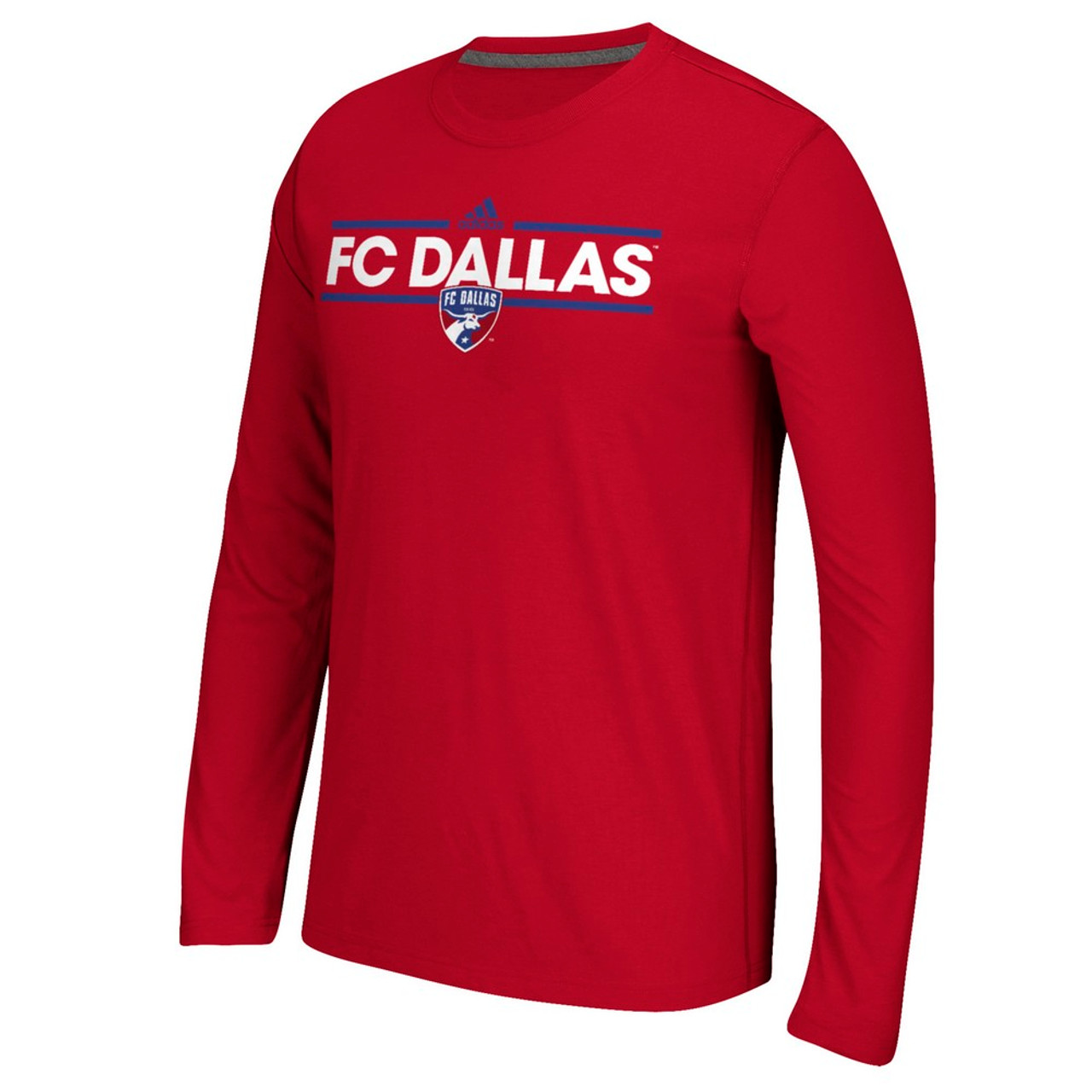 FC Dallas Long Sleeve Adidas Ultimate T-Shirt