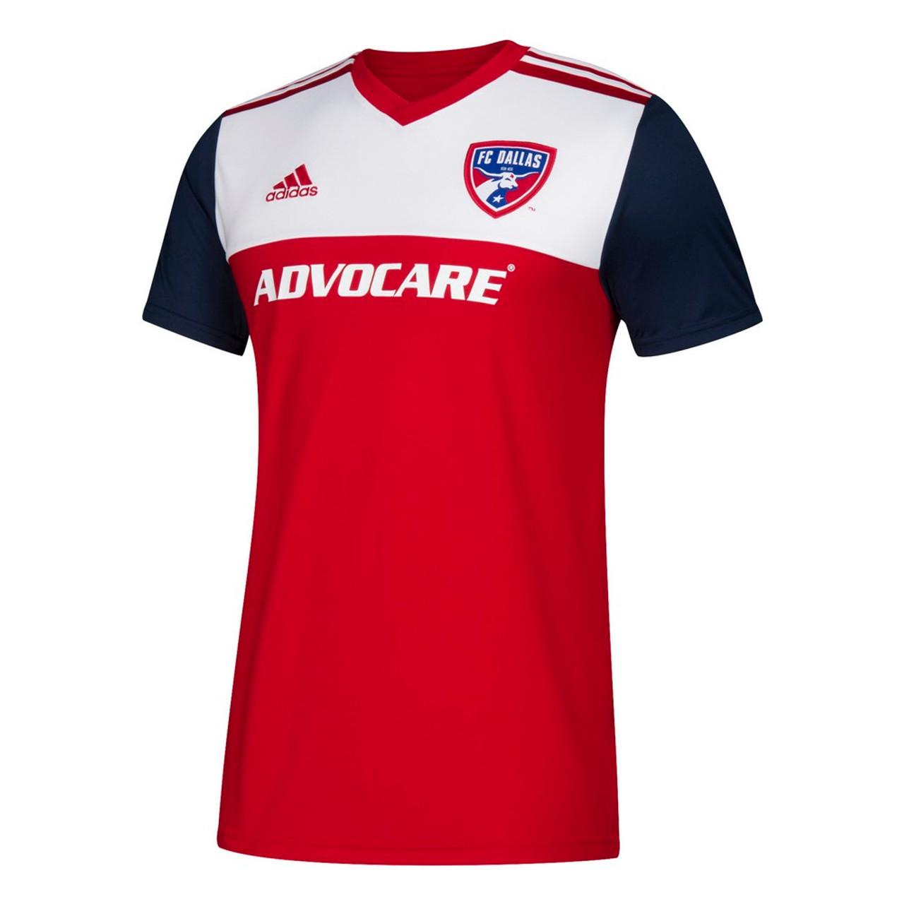 ba36c5227 FC Dallas Jersey Replica Home Adidas Soccer Jersey