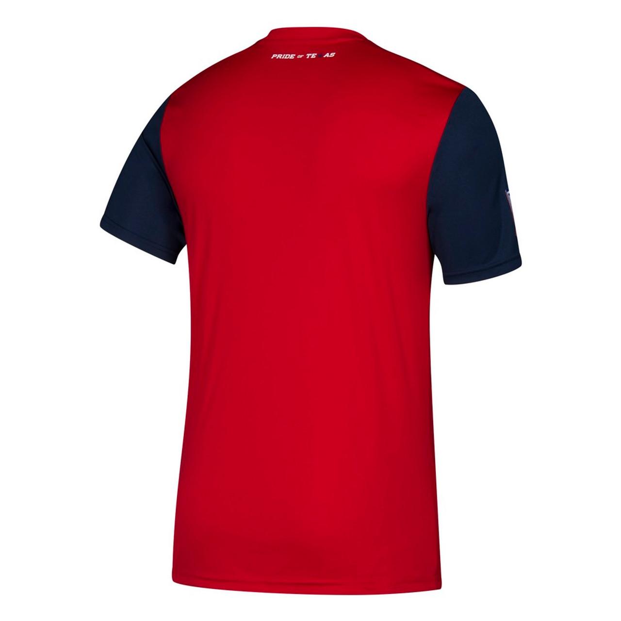 FC Dallas Jersey Replica Home Adidas Soccer Jersey