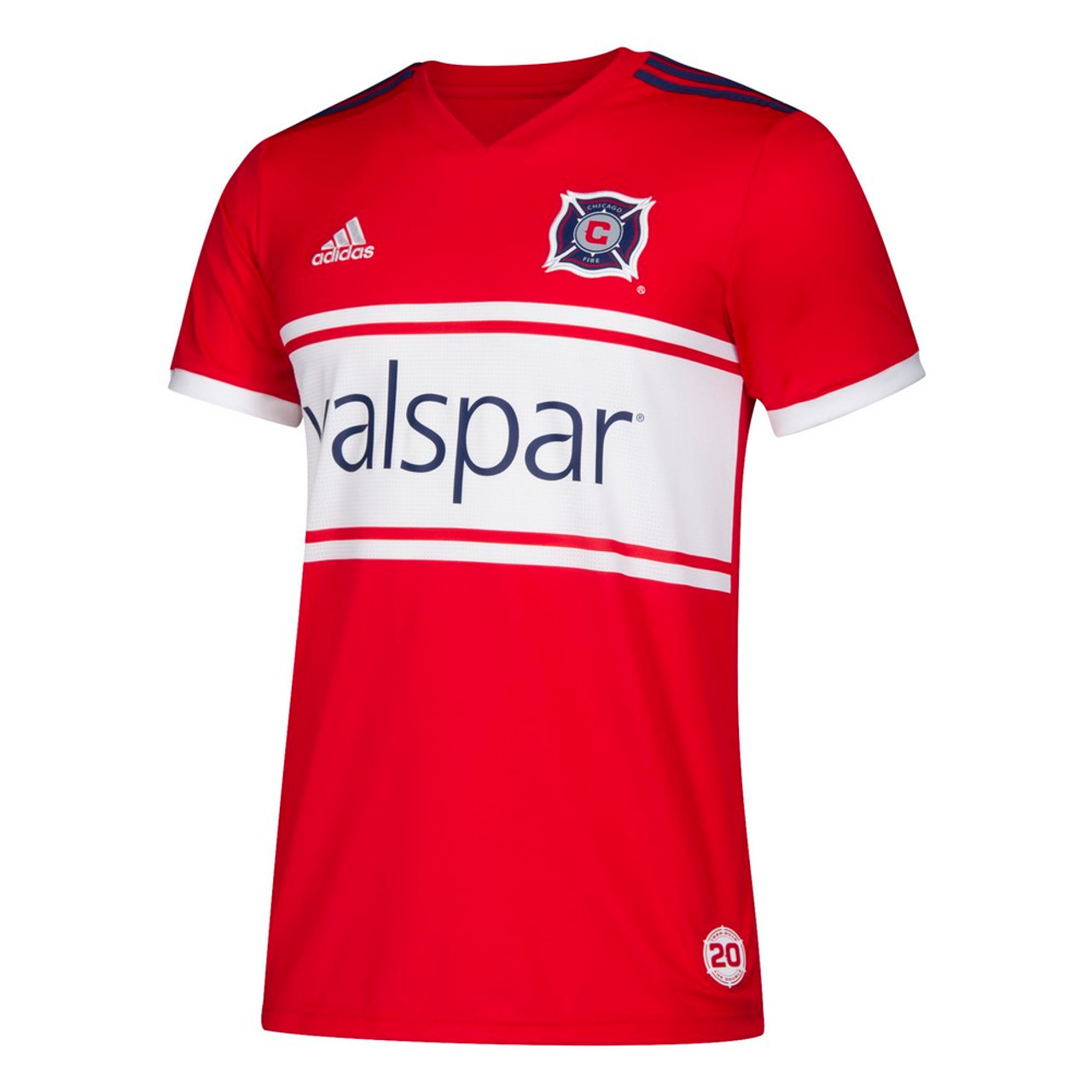 Chicago Fire Jersey Replica Home Adidas Soccer Jersey