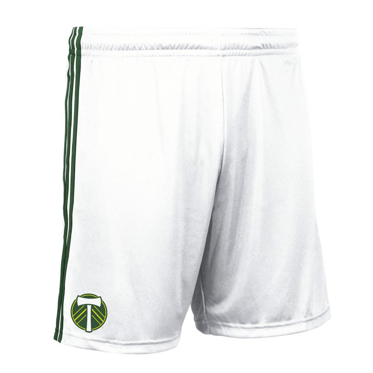 Portland Timbers Shorts Replica Adidas Soccer Shorts
