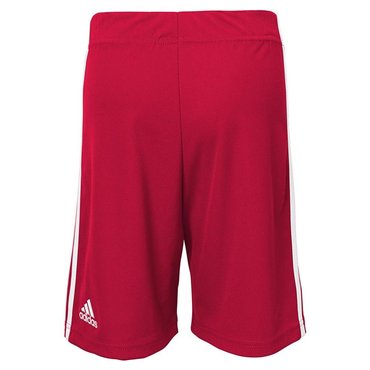 Boy's New York Red Bulls Gym Shorts Adidas Basketball Shorts
