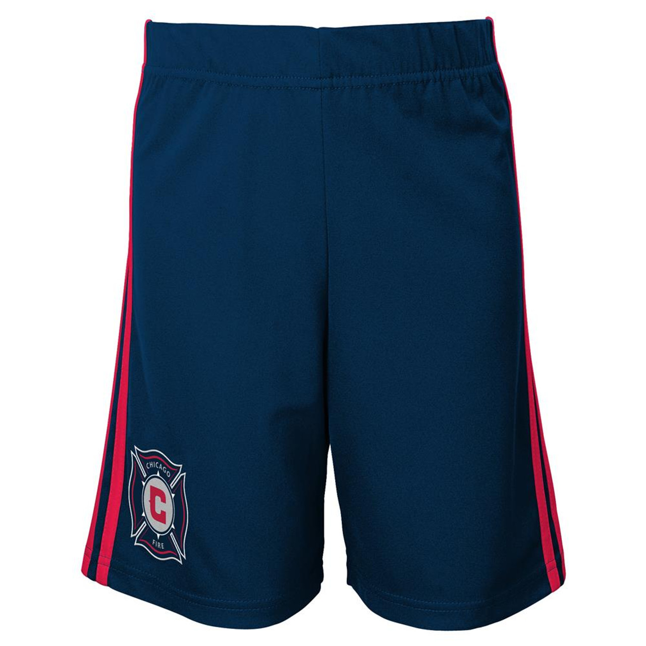 Youth Chicago Fire Shorts Adidas Primary Gym Shorts