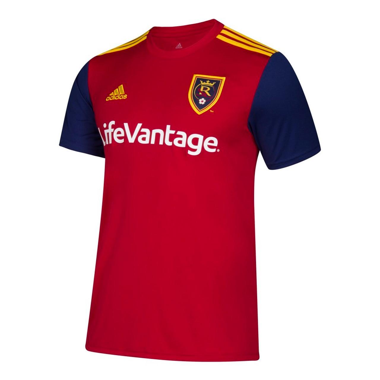 Real Salt Lake Women's Jersey Adidas Home Replica Soccer Jersey