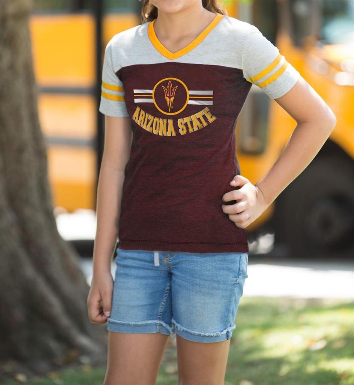Penn State University Youth Girls Short Sleeve Pee Wee Tee