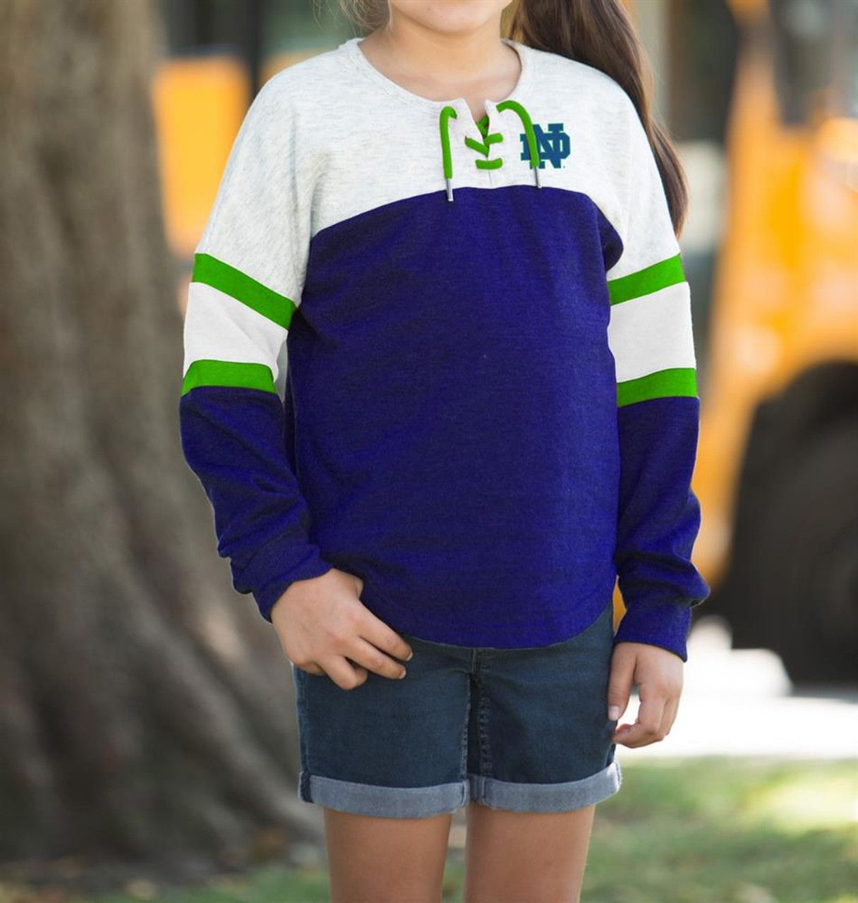 Penn State University Girls Sweatshirt Oversized Pullover