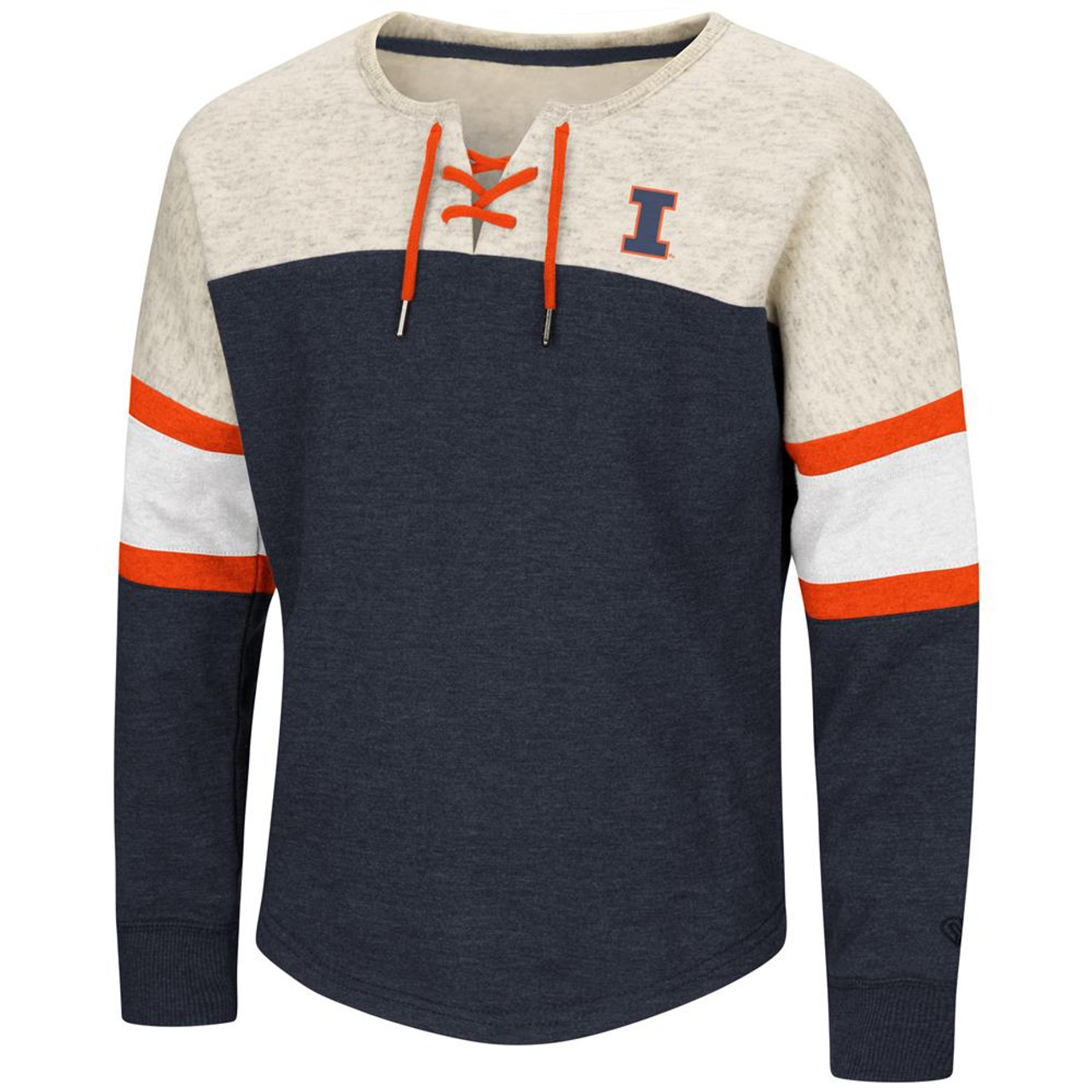 University of Illinois Girls Sweatshirt Oversized Pullover