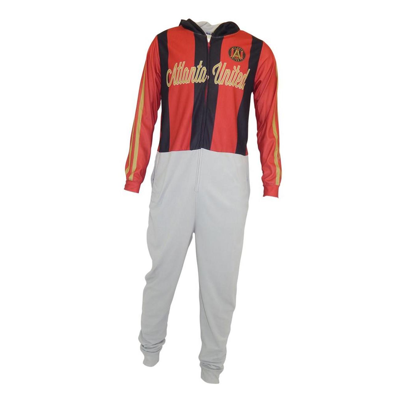 Atlanta United FC Union Suit Warm Up Uniform Pajamas