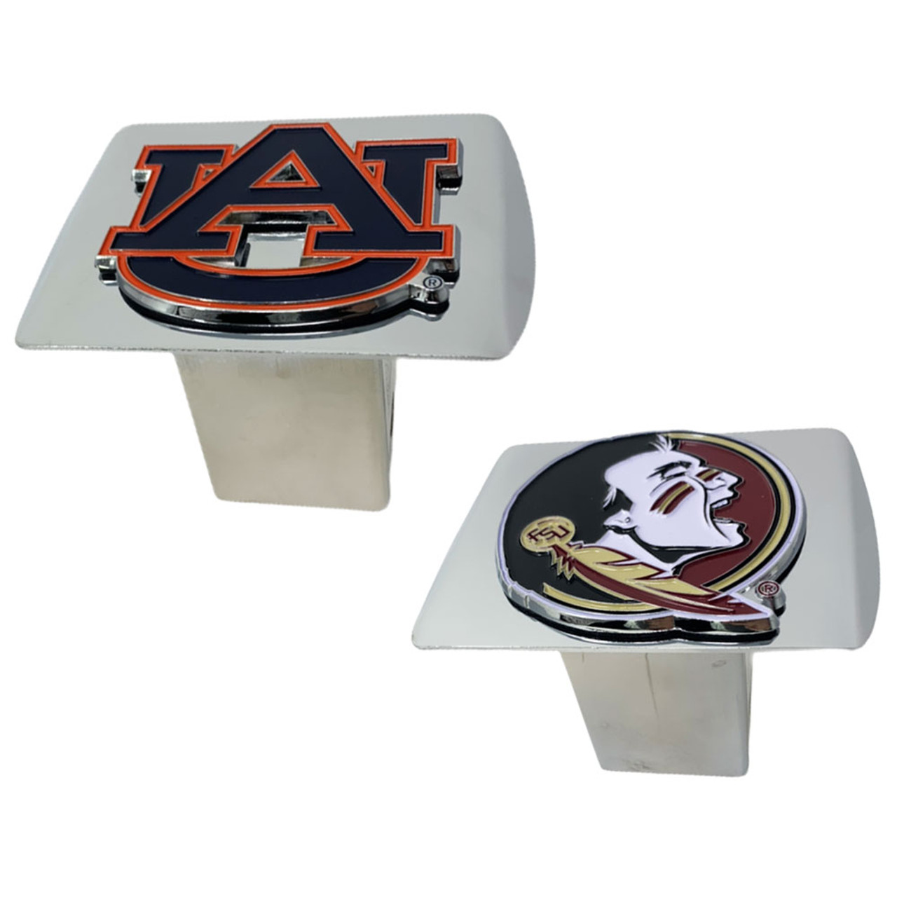 Mississippi State Bulldogs Trailer Hitch Chrome Hitch Cover